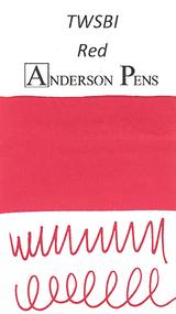 TWSBI Red Ink Cartridges (10 Pack) - Swab