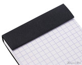 Rhodia No. 8 Staplebound Notepad - 3 x 8.25, Graph - Black perforations