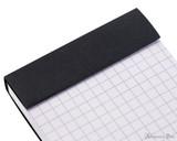 Rhodia No. 8 Staplebound Notepad - 3 x 8.25, Graph - Black perforations