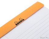 Rhodia No. 16 Staplebound Notepad - A5, Lined - Orange perforations