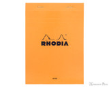 Rhodia No. 16 Staplebound Notepad - A5, Lined - Orange