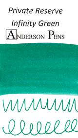 Private Reserve Infinity Green Ink (60ml Bottle) - Swab