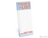 Knock Knock Make-a-List Pad - Today's List