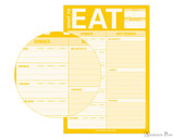 Knock Knock Classic Pad - What to Eat (Yellow) - Zoom