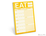 Knock Knock Classic Pad - What to Eat (Yellow)