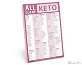 Knock Knock Classic Pad - All Out Of Keto