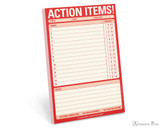 Knock Knock Classic Pad - Action Items!
