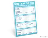 Knock Knock Classic Pad - Don't Kill the Kids