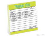 Knock Knock Sticky Notes - Hand-Lettered Thank You