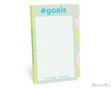 Knock Knock Tabbed Sticky Notes - #Goals