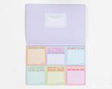 Knock Knock Sticky Notes - Curent Moods Packet Set - Open