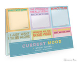 Knock Knock Sticky Notes - Curent Moods Packet Set