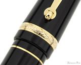 Maiora Aventus Fountain Pen - Onice - Trimband