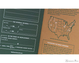 Field Notes Notebooks - Limited Edition Trailhead (3 Pack) - Detail