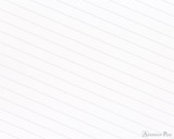 APICA CD15 Notebook - B5, Lined - Light Blue lines closeup