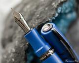 Visconti Homo Sapiens Lava Color Fountain Pen - Blue Ultramarine - Beauty