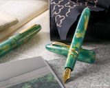 Esterbrook Estie Fountain Pen - Special Edition Accutron with Gold Trim - Beauty 1