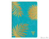 Clairefontaine Neo Deco Notebook - A5, Lined - Turquoise