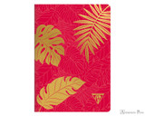 Clairefontaine Neo Deco Notebook - A5, Lined - Madder Red