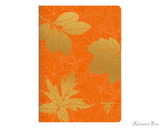 Clairefontaine Neo Deco Notebook - A5, Lined - Pumpkin