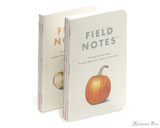 Field Notes Notebooks - Limited Edition Harvest Pack A (3 Pack) (Harvest A) - Both Sets