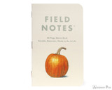Field Notes Notebooks - Limited Edition Harvest Pack A (3 Pack) (Harvest A)
