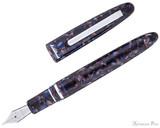 Esterbrook Estie Fountain Pen - Nouveau Blue with Palladium Trim - Open