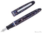 Esterbrook Estie Fountain Pen - Nouveau Blue with Palladium Trim - Open MV Adapter