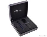 Lamy Dialog CC Fountain Pen - Dark Blue - Box Open
