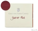 Graf von Faber-Castell Garnet Red Ink Cartridges (6 Pack)