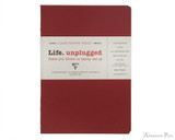 Clairefontaine Basic Staplebound Duo - 5.75 x 8.25, Lined Paper - Red Cover