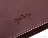 Girologio 48 Pen Case - Brown Leather - Logo