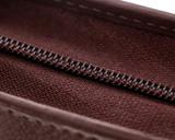 Girologio 48 Pen Case - Brown Leather - Zipper