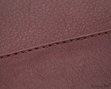 Girologio 48 Pen Case - Brown Leather - Stitching
