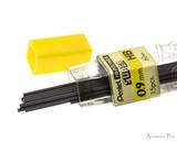 Pentel Super Hi-Polymer HB Lead - 0.9mm - 15 Pieces - Open