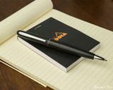 Pilot Metropolitan Ballpoint - Black Plain - On Notepad
