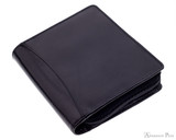 Girologio 12 Pen Case - Black Leather