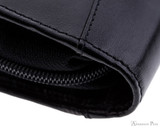 Girologio 12 Pen Case - Black Leather - Stitching