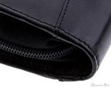 Girologio 12 Pen Case - Black Leather - Stitching
