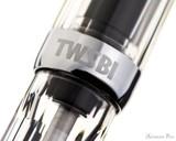 TWSBI Vac Mini Fountain Pen - Clear - Cap Band