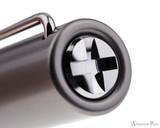 Lamy LX Fountain Pen - Ruthenium - Cap Jewel