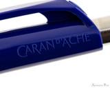 Caran d'Ache 888 Infinite Ballpoint - Night Blue - Imprint