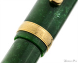 Platinum 3776 Celluloid Fountain Pen - Jade - Cap Band