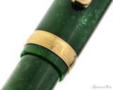 Platinum 3776 Celluloid Fountain Pen - Jade - Cap Band