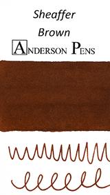 Sheaffer Brown Ink Sample (3ml Vial)