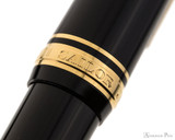 Sailor Pro Gear Fountain Pen - Black with Gold Trim - Cap Band