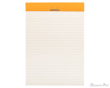 Rhodia No. 16 Premium Notepad - A5, Lined - Taupe, Lined open