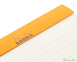 Rhodia No. 16 Premium Notepad - A5, Lined - Taupe, Lined perforations
