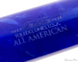 Conklin All American Ballpoint - Lapis Blue - Imprint