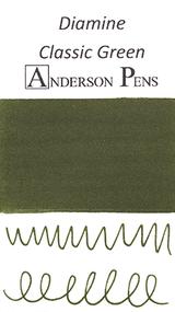 Diamine Classic Green Ink Swab